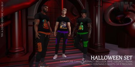 Nero - Halloween Shirt - FATPACK