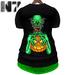 Nero   halloween shirt  green