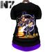 Nero   halloween shirt  purple