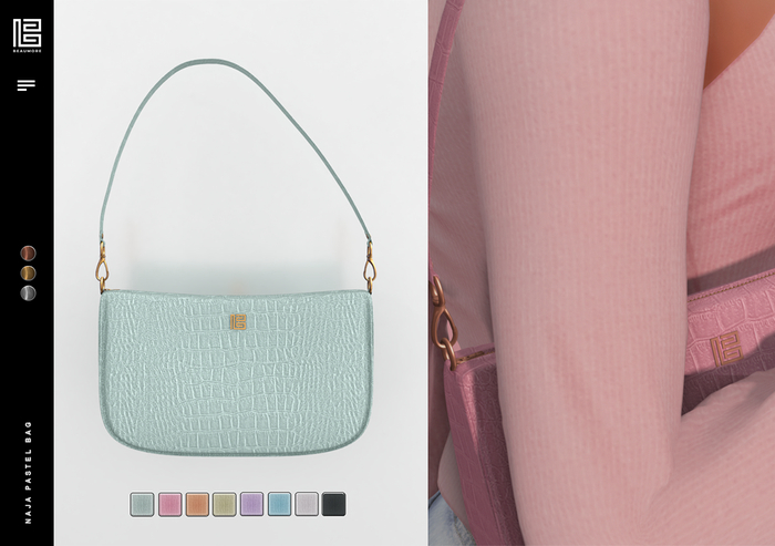 Beaumore 'Naja' Pastel Bag