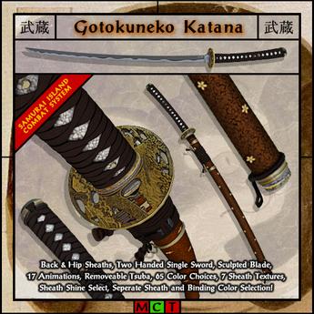 Musashi Blades - Gotokuneko Katana V4.5