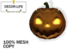 Big Pumpkin Halloween -DECOR LAND-