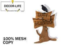 Happy Halloween Tree -DECOR LAND-
