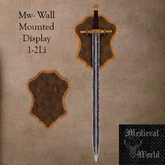 Mw- Wall mounted Sword (add+touch)