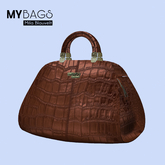 MY BAGS by Mila Blauvelt My Cuba whit Resaizer  BROWN
