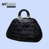 MY BAGS by Mila Blauvelt My Cuba whit Resaizer  BLACK
