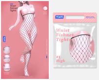 MIWAS / Waist #1 High Fishnet tights