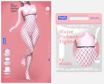 MIWAS / Waist #2 Mid Fishnet tights