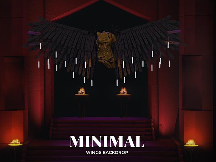 MINIMAL - Wings Backdrop