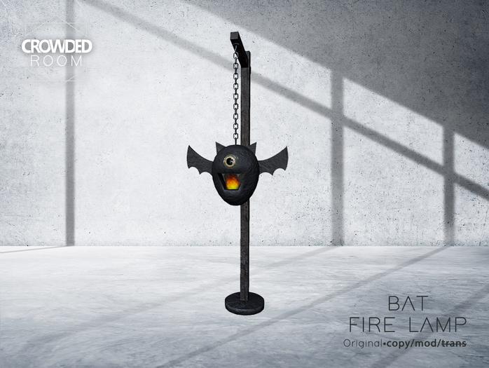 Crowded Room -  Bat Fire Lamp (ADD)