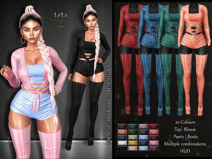 {Le'La} Asmonis Outfit
