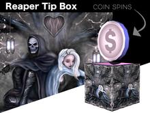 Tip Jar - Grim Reaper Coin Tip Box - *TIP JAR*