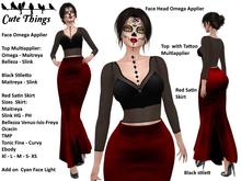 [CT] Halloween - Dia de Los Muertos - 16 sizes: Maitreya - Slink - Belleza - Tonic - Ebody - Ocacin - TMP