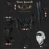 Violent Seduction - Atracid Crown (Black)