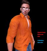 [Jo Melodious]    IKARUS  orange  shirt
