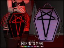 glutz . memento mori purse