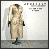 !APHORISM! - Trench Coat Cream