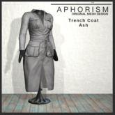 !APHORISM! - Trench Coat Ash