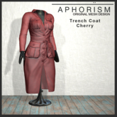 !APHORISM! - Trench Coat Cherry V1.2