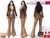 Full Perm Clay Brown Color Retro Tank Top For Maitreya Slink Belleza Tonic Ocacin Classic Body Avatars
