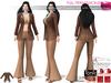 Full Perm 1970s Retro Jacket Outwear Shirt With Tassels Bottom For Maitreya Slink Belleza Tonic Classic Body