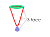 Mesh%20faces 1970s%20teal%20retro%20necklace