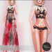 .:FlowerDreams:. Roxane Lingerie Set Black