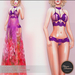.:FlowerDreams:. Roxane Lingerie Set Plum