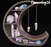 dust bunny . lunar craft . crystal display