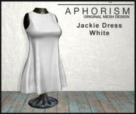 !APHORISM! - Jackie Dress White
