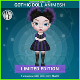 SEmotion Libellune Gothic Doll Animesh LIMITED