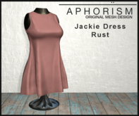 !APHORISM! - Jackie Dress Rust