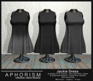 !APHORISM! - Jackie Dress DEMO