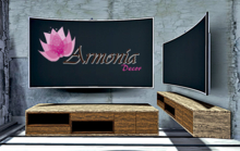 Armonia Decor [AD] Smart TV and Wall Shelf Barquismeto