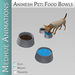 Medhue Animesh Pet Food & Water Bowls