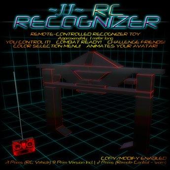 ~JJ~ RC Recognizer