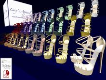 Sexy Platform Sandals FAT PACK Belleza, Maitreya, Slink