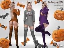 PROMO - Vaxer : Halloween 2020 Outfit - Maitreya Lara, Slink ( H), Belleza (I, F) and Legacy. 3 Textures HUD