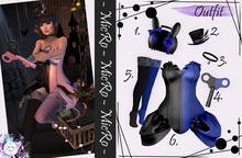 - MicRo - Outfit Doll Only Maitreya Blue
