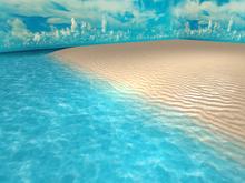 Beach Skybox 32x32 for 1024m² - MESH - Textures HD