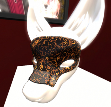 {DI} Gold Emperor Mask For Canis and Lupus Head