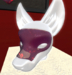 {DI} Purple Swirl Mask For Canis and Lupus Head