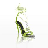 MOGUL (Nai Strap Heels) - Neons