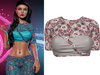 !PCP :: Vega Shirt [Sugarskull Rose]