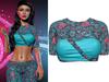 !PCP :: Vega Shirt [Sugarskull Turquoise]