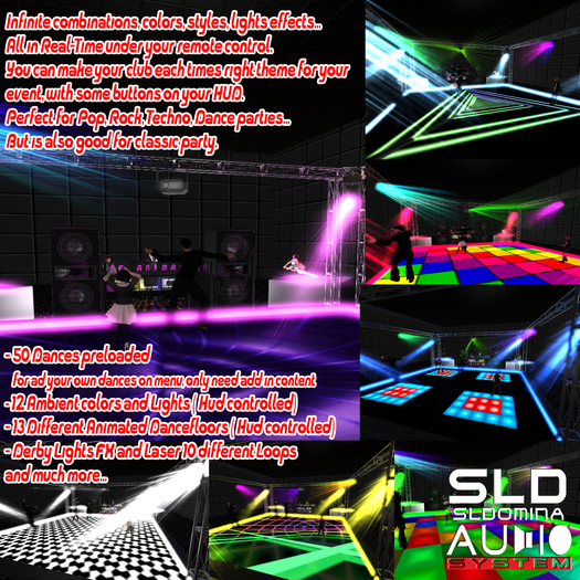 Nexus Series Most Advanced Dancefloor & DJBooth Hud Control, DJ Animations Vocalist Dancers Lights fx YOU HAVE TO SEE