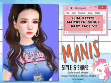 [MANIS] - MTGN20/ /♡ SLIM ♡ GENUS, MAITREYA