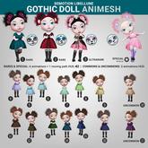SEmotion Libellune Gothic Doll Animesh #16