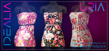 < IDEALIA > URIA Dress FATPACK (GIFT : free for group member on store)