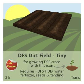 DFS Dirt Field - Tiny